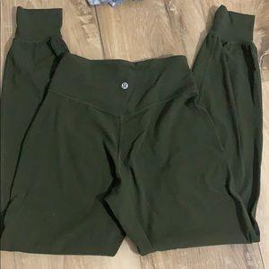 Lulu lemon joggers with pockets